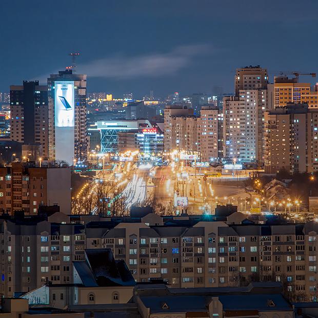 Что видно с минских крыш ночью — Гид The Village на The Village Беларусь