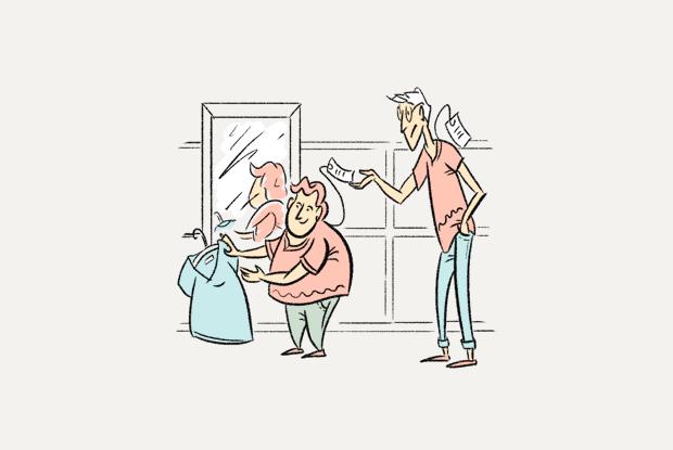 Чаму вопратка вялікіх і малых памераў каштуе аднолькава? — Ёсць пытанне на The Village Беларусь