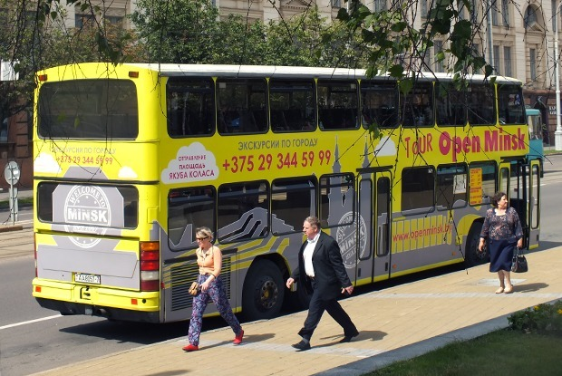 Взгляд свысока: почему в Минске слабо развиты экскурсии на двухэтажных автобусах? — Транспарт на The Village Беларусь