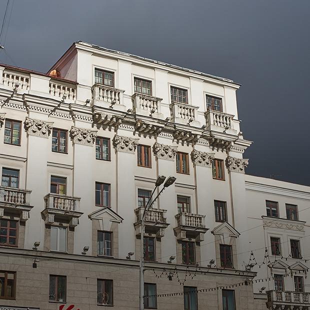 Я живу над Центральным книжным — Дзе ты жывеш на The Village Беларусь