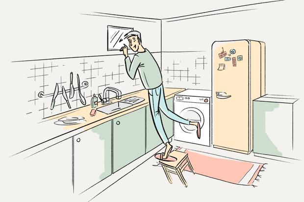 Нашто акно паміж ванным пакоем і кухняй? — Ёсць пытанне на The Village Беларусь