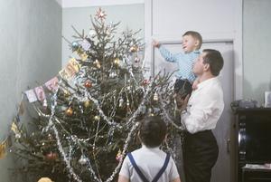 Как выглядел новогодний стол и елки в Минске 70-х