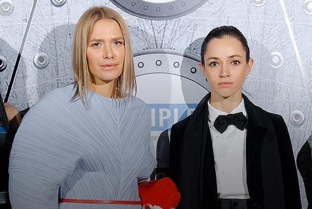 Как одеты гости презентации бизнес-центра, который открывала Ксения Собчак