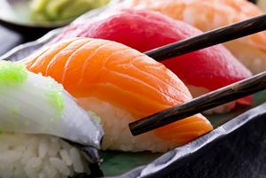 Як правільна есці сушы?