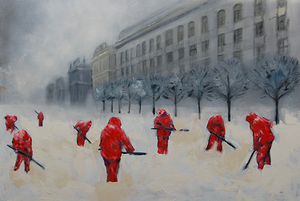 Беларуские художники придумывают дизайн банковской карты