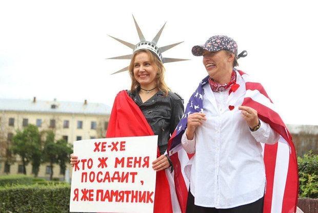 «От любви до ненависти один автозак»: Самые яркие митинги, которые проходят сегодня в Минске — Дзяжурны па горадзе на The Village Беларусь