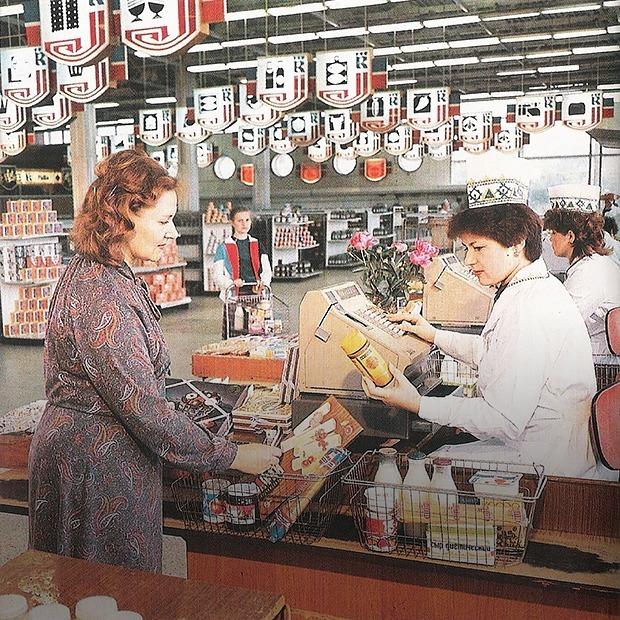 Магазины Минска полвека назад: как изменились интерьеры