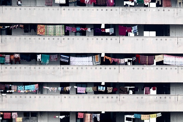 Можно ли сушить нижнее белье на балконе на проспекте Независимости? — Ёсць пытанне на The Village Беларусь