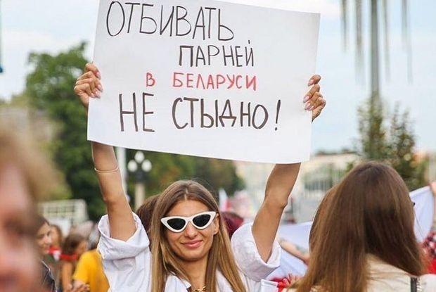 «Познакомилась с парнем, убегая от силовиков»: Смелые беларуски, которые ходят на все протесты — Героі ў горадзе на The Village Беларусь