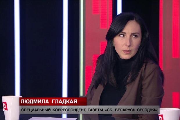 «По-моему, это дебилизм»: Как пропагандистка Гладкая допрашивает задержанных вместе с ОМОНом — Забаўкі на The Village Беларусь