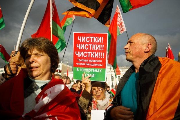 «МВД не стесняется выдавать и такие цифры»: Как власти пропагандой хотят убедить нас в том, чего нет