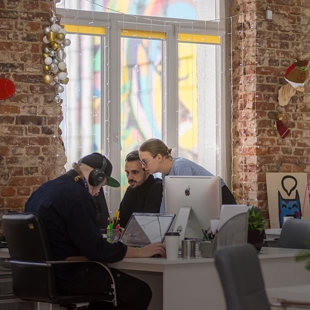 «Это прямо идиллия»: Как выглядит офис digital-агентства getbob на Октябрьской — Офiс на The Village Беларусь
