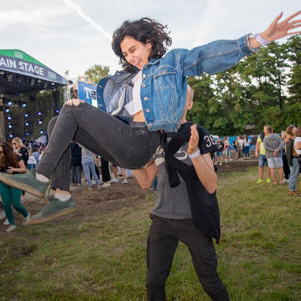 Как одеты гости фестиваля Stereo Weekend в ботсаду — Фестываль на The Village Беларусь