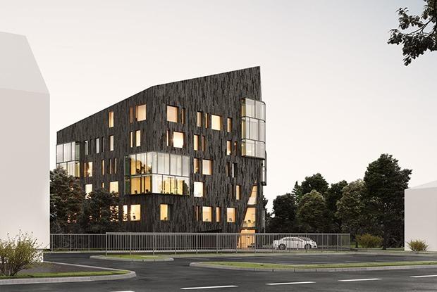 «Мы не хотим ныть»: Архитектор крутого здания для айтишников о спорных постройках — Aрхітэктура на The Village Беларусь