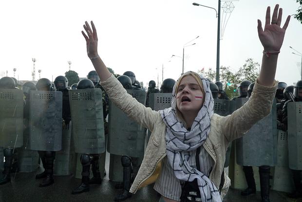 «Черная метка — могут убить»: Как силовики ставят метки на мирных протестующих и что они означают — Што робiцца на The Village Беларусь