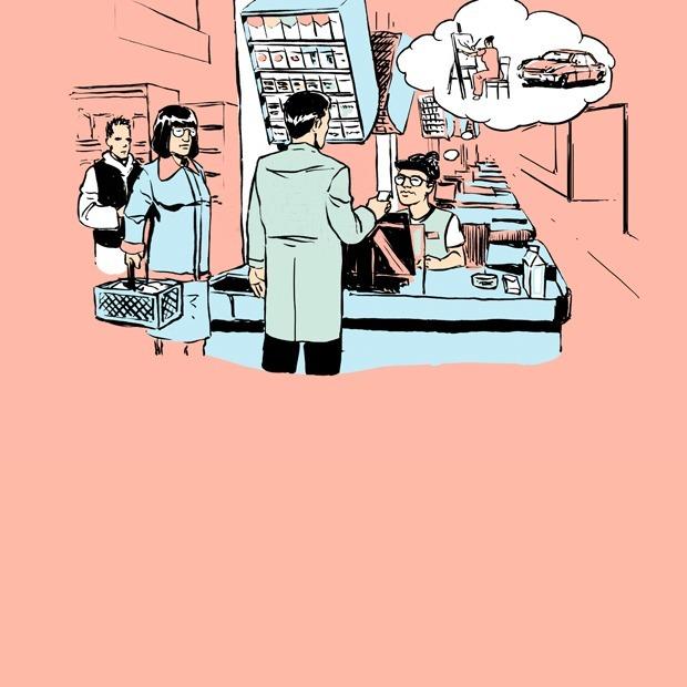 Почему в супермаркете работают не все кассы?