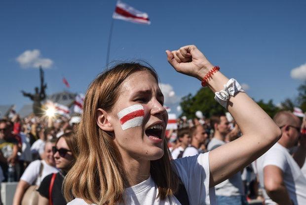 «Флаг не должен причинять ущерб порядку»: Могут ли власти запретить БЧБ и «Погоню» — Забаўкі на The Village Беларусь