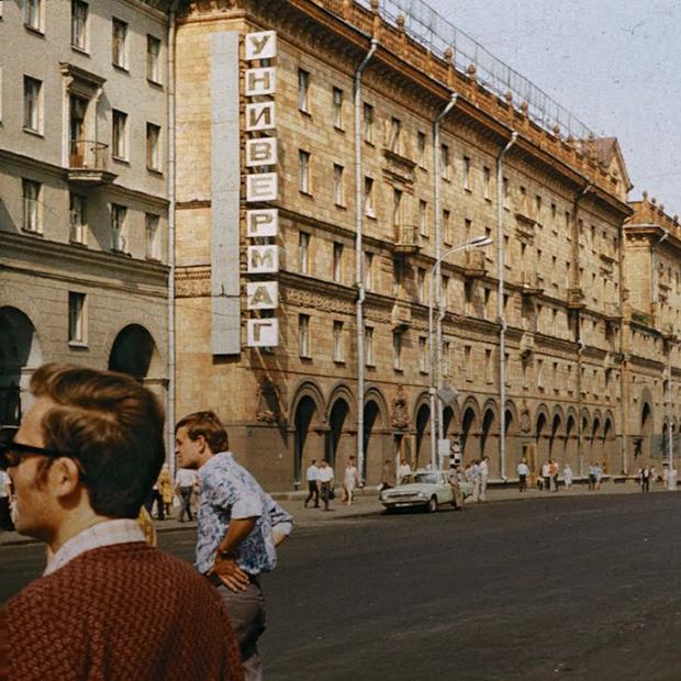Как выглядели вывески в советском Минске: И что с ними стало сейчас