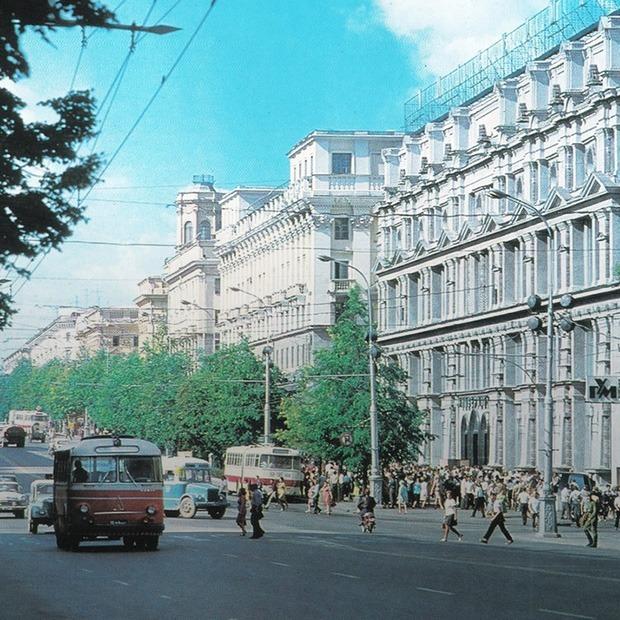 Раньше Минск был зеленее: Посмотрите на деревья, которых больше нет