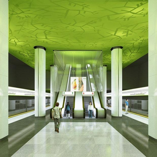 Третья линия метро: Рассказываем, когда пойдут поезда и впервые показываем все рендеры станций