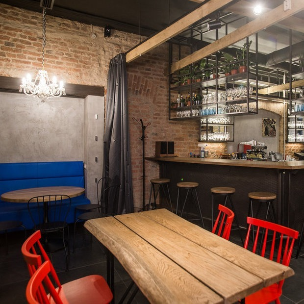 В Красном дворике откроется бар «Синяя коза», вдохновленный Шагалом и Пикассо — Новае месца на The Village Беларусь