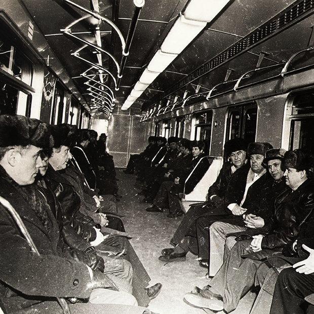 Как пускали самый первый поезд в минском метро — Гiсторыi на The Village Беларусь