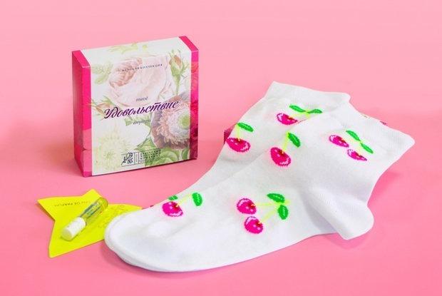 Беларусы выпустили носки для женского оргазма