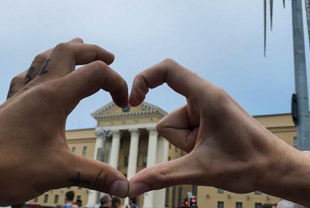 «Беларусы красавцы!»: Что постили участники первой в истории Беларуси такой необычной акции протеста — Што робiцца на The Village Беларусь
