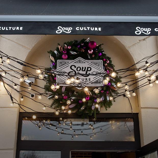 На Козлова открылось кафе «Супкультура» с супами за 4,5 рубля в съедобных стаканчиках