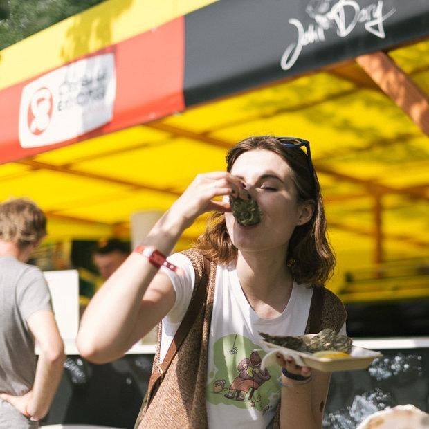 Что есть и пить на фестивале FSP X: Весь фуд-корт в нашем списке — Гiд The Village на The Village Беларусь