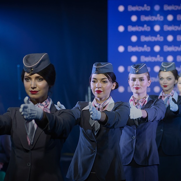 Как будут выглядеть стюардессы и пилоты «Белавиа» — Знешні выгляд на The Village Беларусь