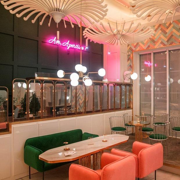 На Герцена открывается аперитивный бар LEØNE в итальянском стиле с фонтаном из Negroni — Новае месца на The Village Беларусь