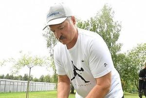 Вещь недели: Футболка за 50 долларов, в которой Александр Лукашенко собирал картошку