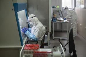 «Мы на этом не зарабатываем»: Репортаж из лаборатории, где делают анализ на коронавирус