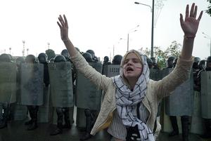 «Черная метка — могут убить»: Как силовики ставят метки на мирных протестующих и что они означают