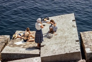 Купальники и плавки наших родителей: Как выглядели минчане на пляже 40 лет назад