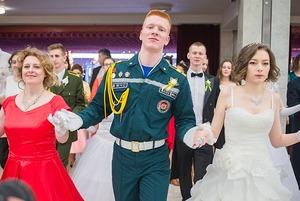 Как одеты гости бала православной молодежи