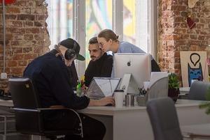 «Это прямо идиллия»: Как выглядит офис digital-агентства getbob на Октябрьской
