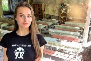 Популярные инста-блогеры атаковали Чернобыль, чтобы выложить полуголые фото в свой профиль