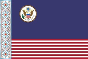 На популярном американском сайте пародируют беларуский флаг