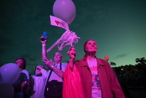 Эпохальный митинг кандидата в президенты Светланы Тихановской в 15 фото