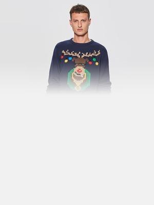 18 праздничных свитеров с оленями (и не только), в которых не стыдно появиться на вечеринке