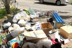 За очистку подъезда от мусора на минчанина вызвали милицию