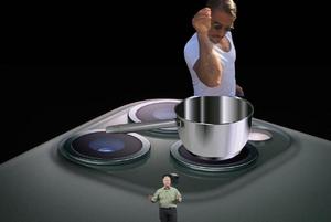 «Когда в заводской столовке взял три супа, эспрессо и мазик»: Соцсети шутят над новыми iPhone
