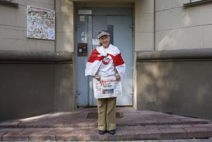 «Если бы я лежал в постели, давно бы умер»: Смелые беларуские пенсионеры, которые ходят на протесты