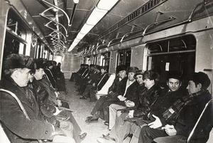 Как пускали самый первый поезд в минском метро