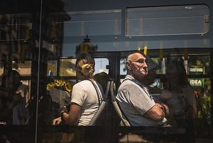Могут ли контролеры без жилетов проверять автобусы, идущие по маршруту троллейбуса?