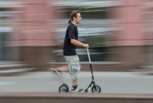 Эксперимент: Журналист The Village Беларусь каждый день ездил с работы домой на самокате