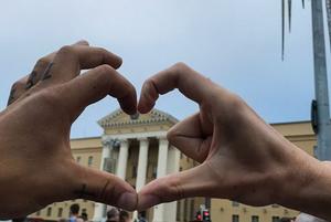 «Беларусы красавцы!»: Что постили участники первой в истории Беларуси такой необычной акции протеста